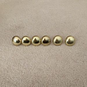 Gold knobs 1.25""